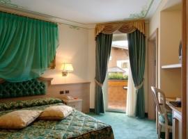 Stanze curate nel minimo dettaglio all'Hotel Alle Alpi Beauty e Relax