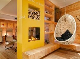 Rilassati nell'area wellness dell'hotel La Serenella