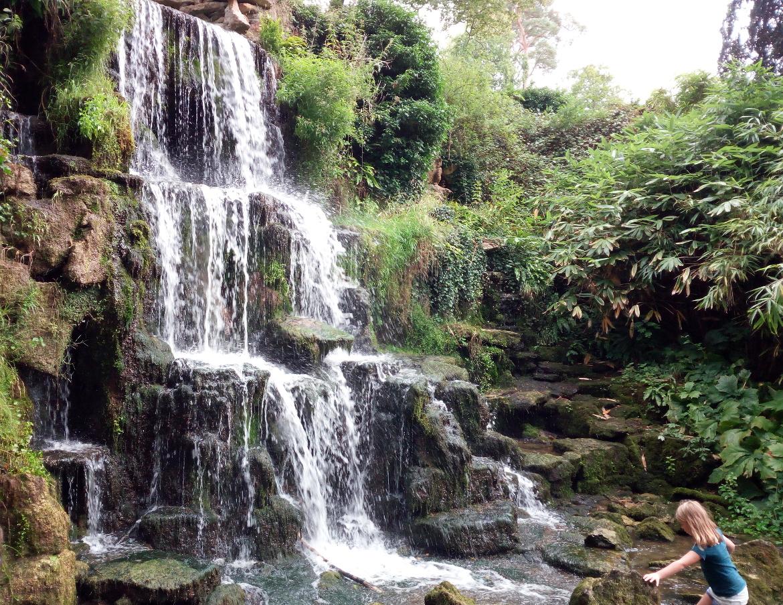 Cascata nel Parco di Bowood