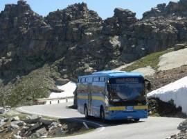 """Servizio bus gratuito """"A piedi tra le Nuvole"""" fino al rifugio Muzio"""