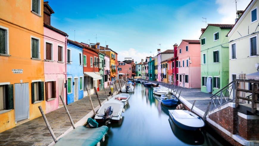 nei dintorni di Venezia