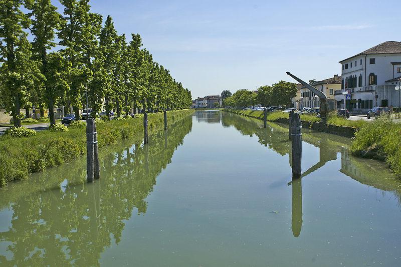 Ciclovia lungo il Naviglio del Brenta