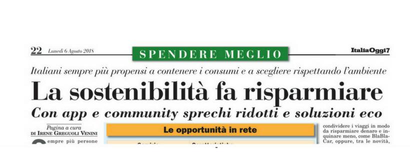 Sostenibilità Ecobnb Italia Oggi