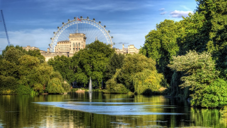 Londra Verde Sostenibilità