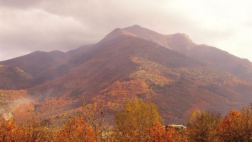 I Monti Picentini in autunno