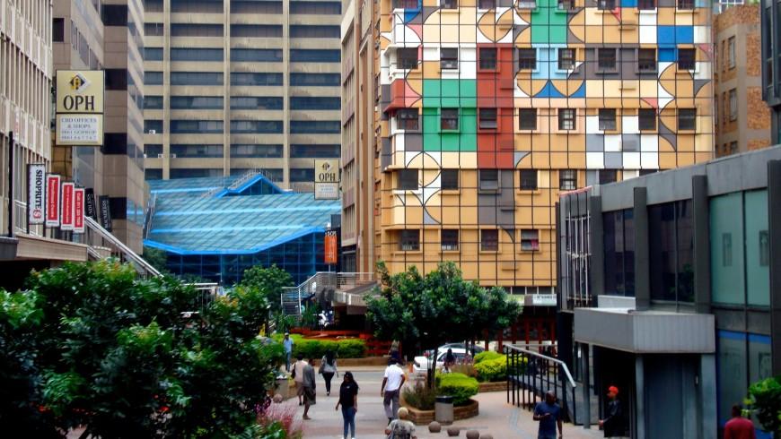 Johannesburg, Sudafrica, una delle città più verdi al mondo