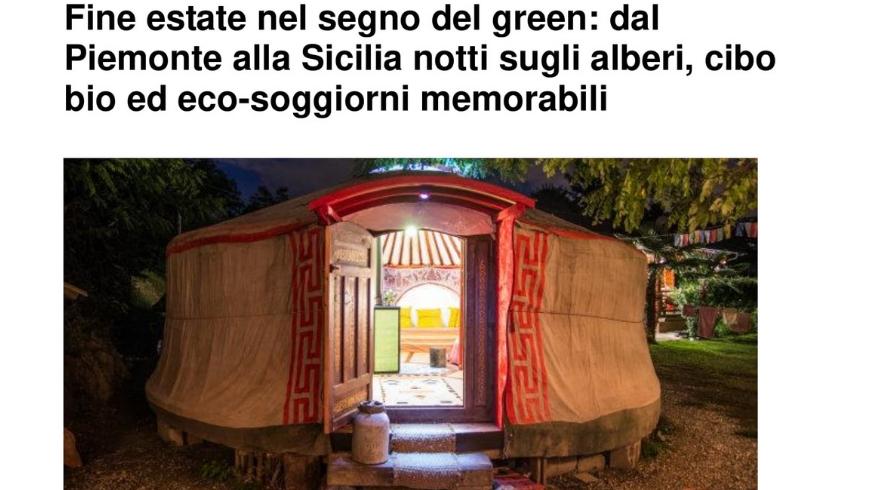 Huffington Post, Ecoturismo, Ospitalità green