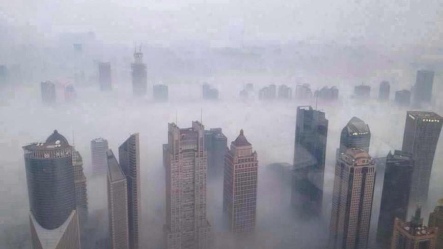 Shangai inquinamento atmosferico- Foto di Erhard Renz via Flickr