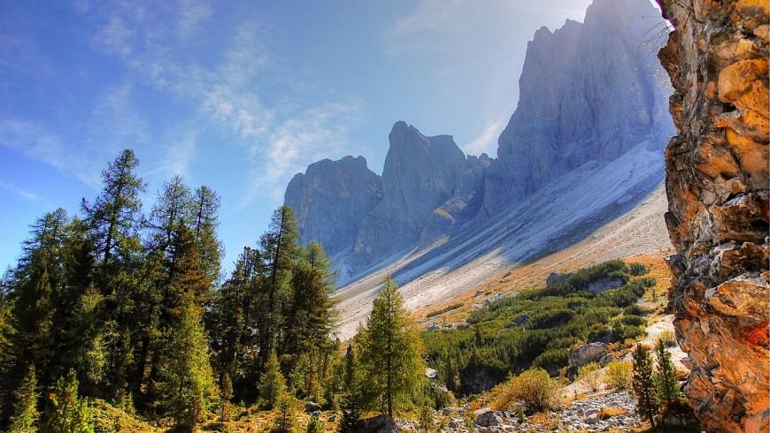 Foliage in Alto Adige, tra le cime delle Odle
