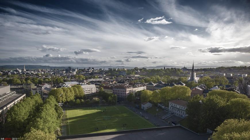 Oslo, Norvegia e i suoi sapzi verdi