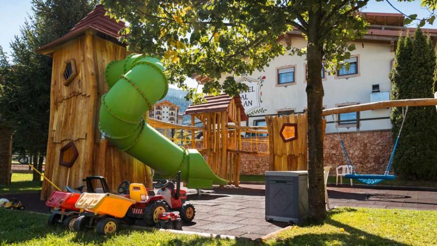 Un hotel per tutta la famiglia in Trentino