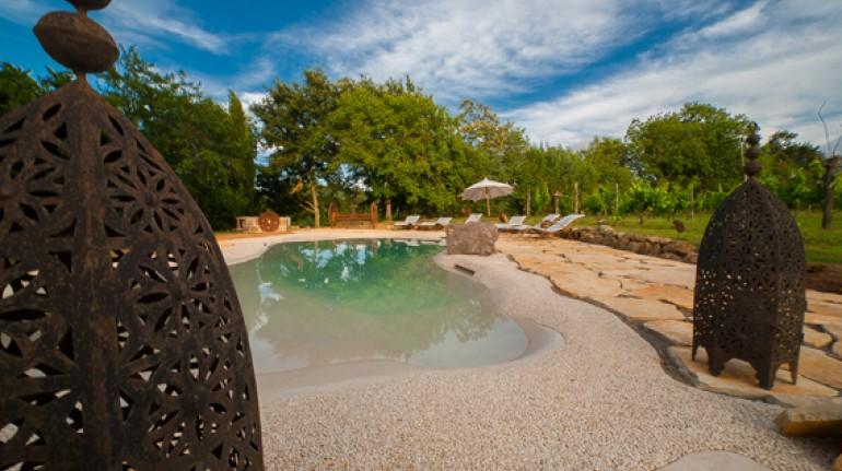 Affascinante ecofriendly hotel Sant'Egle con bio-piscina in Toscana