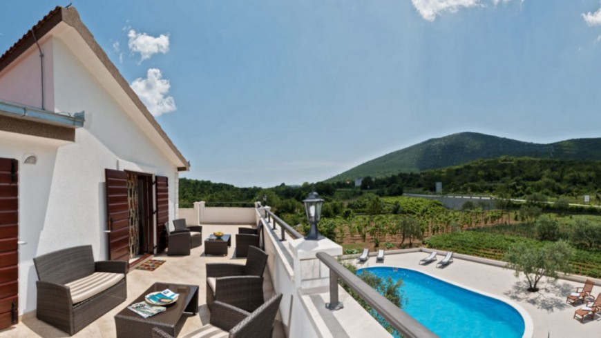 Villa Vinea, casa eco-sostenibile e lussuosa in Dalmazia