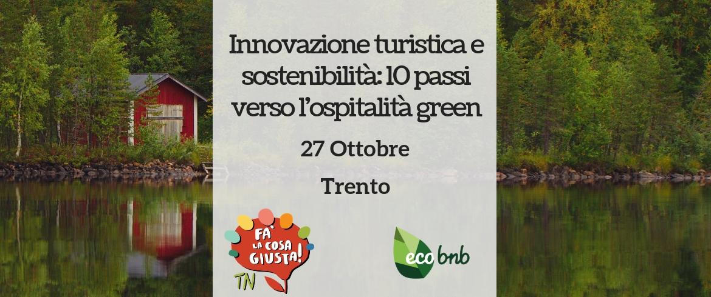 workshop gratuito su innovazione e sostenibilità a trento