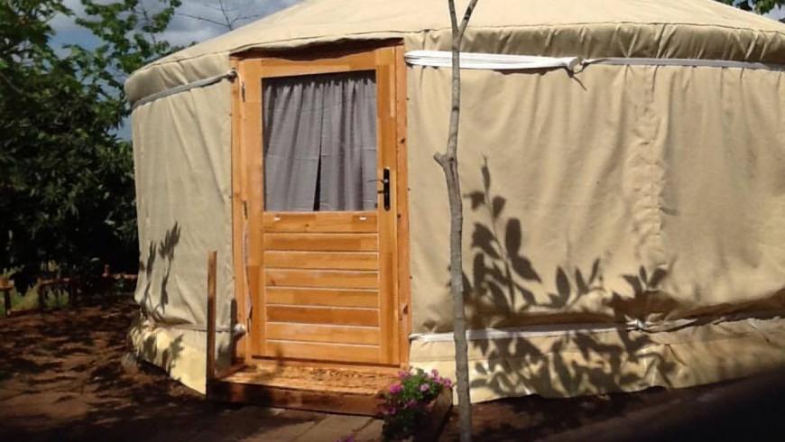Vivere la Maremma slow: dormire in una yurta