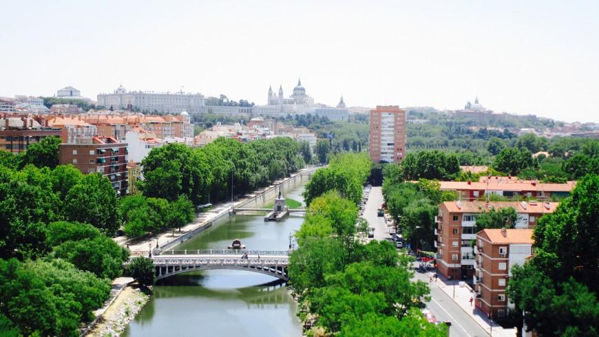 Manzanares, Madrid in bici, Casa de Campo
