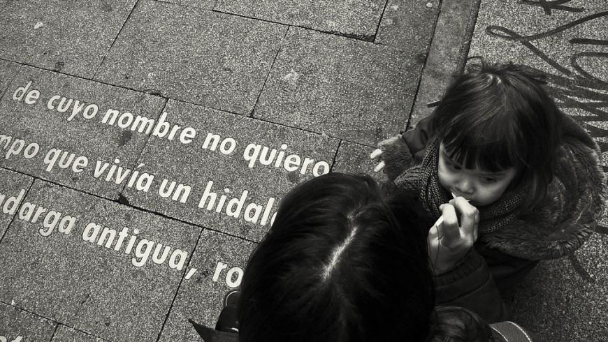 Quartiere delle lettere, Barrio de las Letras, Madrid