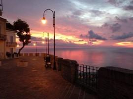 Silvi, Torre del Cerrano al tramonto