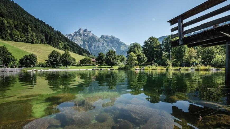 Il lago di Werfenweng