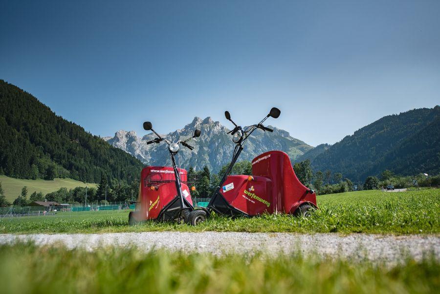 Veicoli elettrici di Werfenweng, Perla Alpina dell'Austria