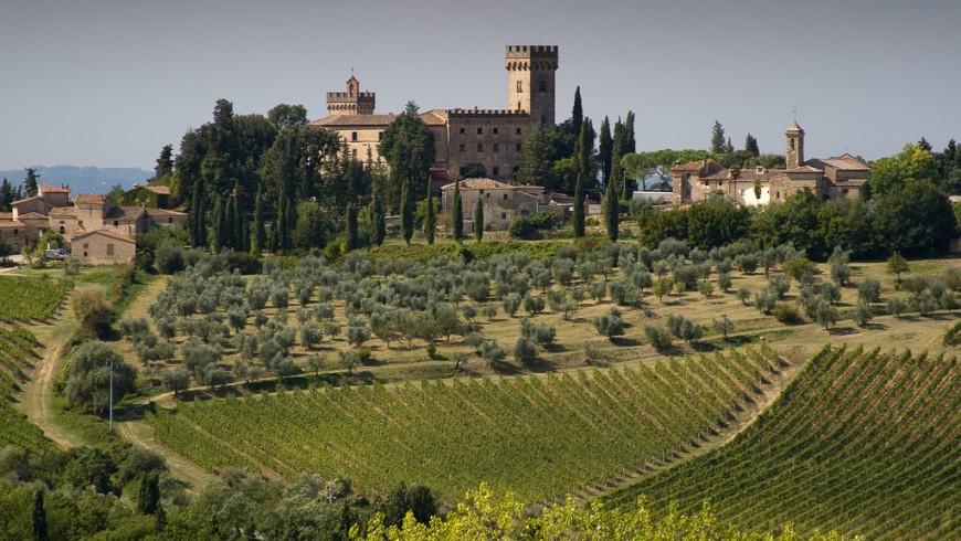 Castello di Poppiano, Montespertoli, Toscana