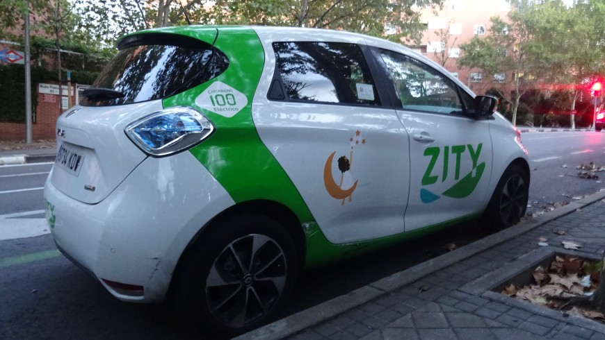 Ecomobilità, Car sharing Green, Madrid Green