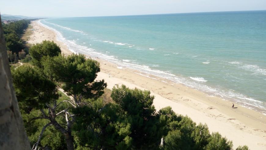 Torre del Cerrano, dune di sabbia