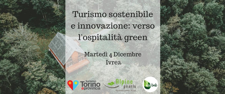 Ivrea, locandina del workshop dedicato al turismo sostenibile