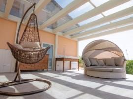 Le Lavande Eco-house a Montespertoli, veranda