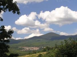 Campagna e paesaggio attorno all'agriurismo podere di Maggio