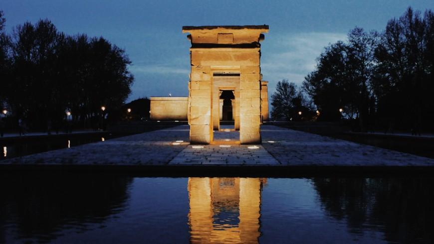 Madrid, Tempio di Debod