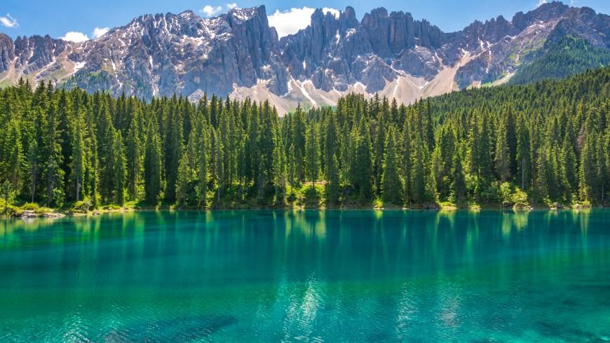 Dolomiti Friulane che si specchiano nel lago
