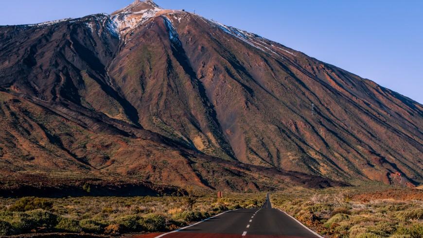 Il vulcano Teide, sull'isola di Tenerife