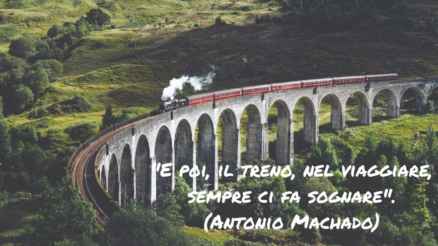 citazioni, pensieri e aforismi sul viaggio: il treno