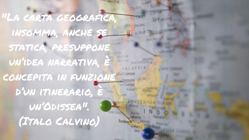 citazioni, pensieri e aforismi sul viaggio : la carta geografica