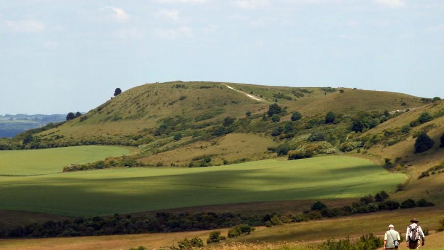 The Ridgeway, sentiero nazionale dell'Inghilterra che parte da Avebury