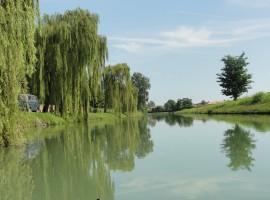 Itinerari verdi nella Campagna tra Padova e Venezia, vicino a La Cavana
