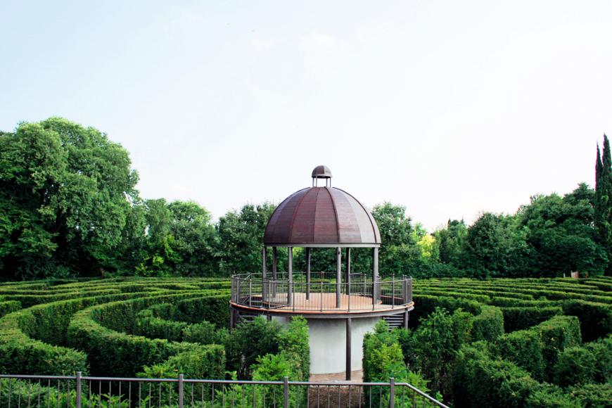 Labirinto nel Giardino Sigurtà