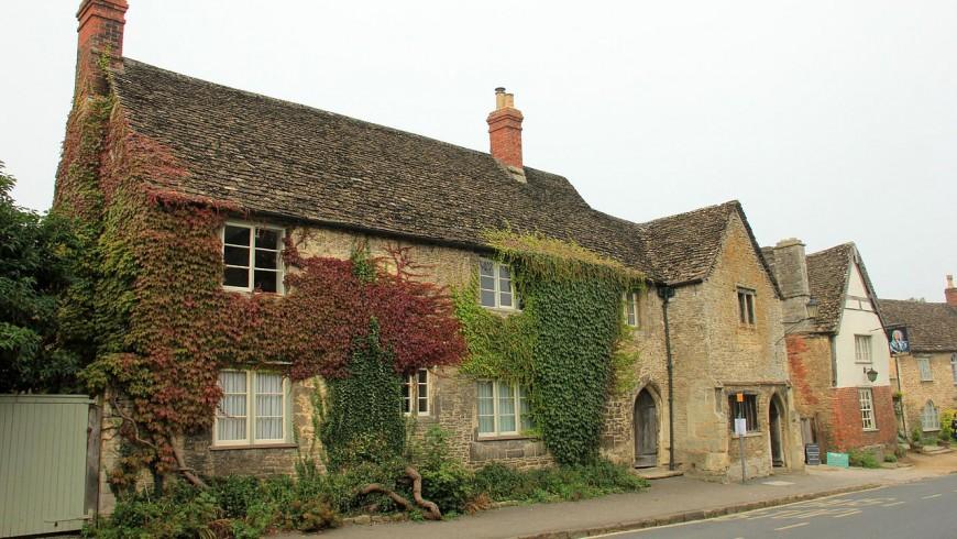 Il villaggio di Lacock, in Inghilterra