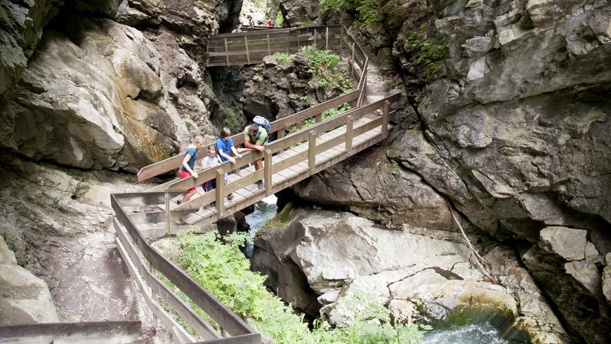 cascate di stanghe, nella Perla Alpina di Racines