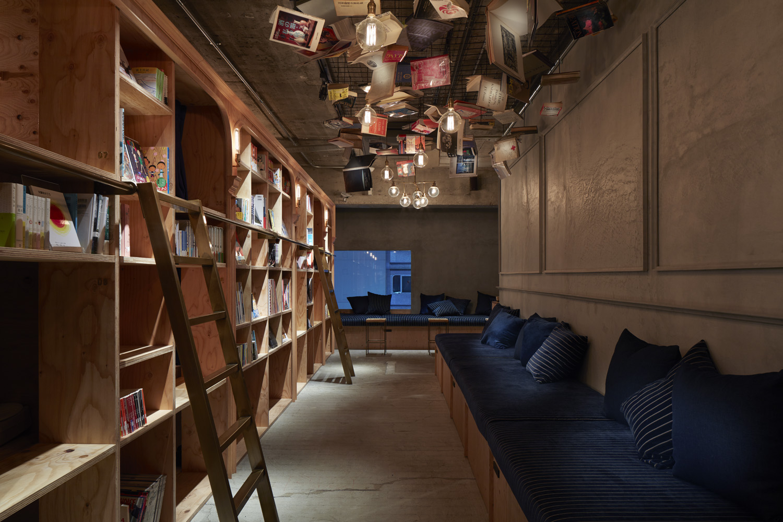 Ostello a Tokyo dove dormire tra i libri