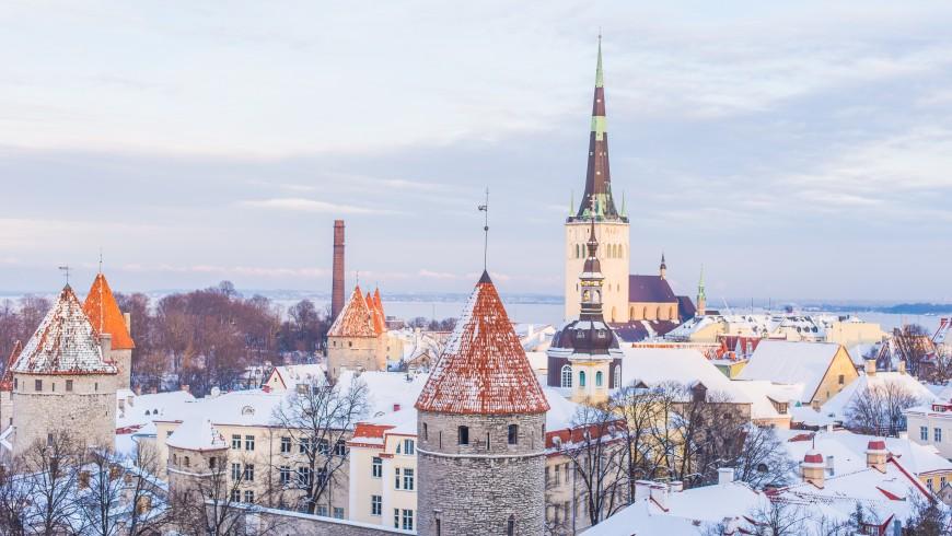 Estonia, Tallin, Old Town