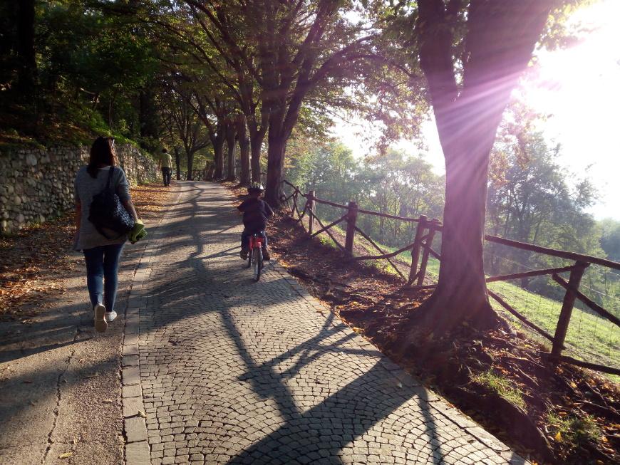 mobilità dolce al Parco Sigurtà