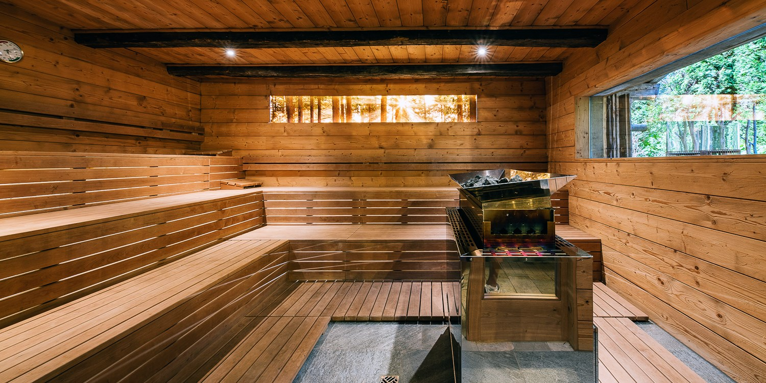 sauna dell'hotel Rainer