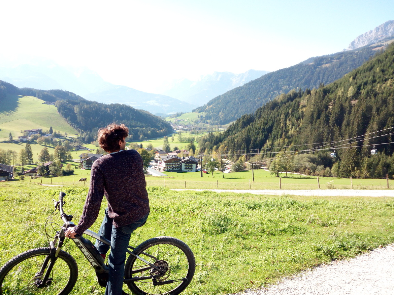 In e-bike a Werfenweng