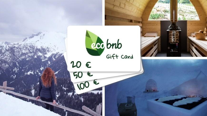 Gift Cards, regali di natale eco-sostenibili