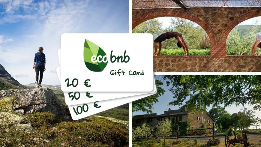 I regali di Natale più belli sono le esperienze: scegli le Gift Card di Ecobnb