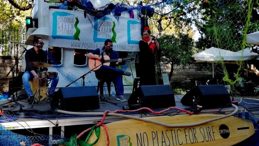 Evento del Posidonia Green Festival di Barcellona