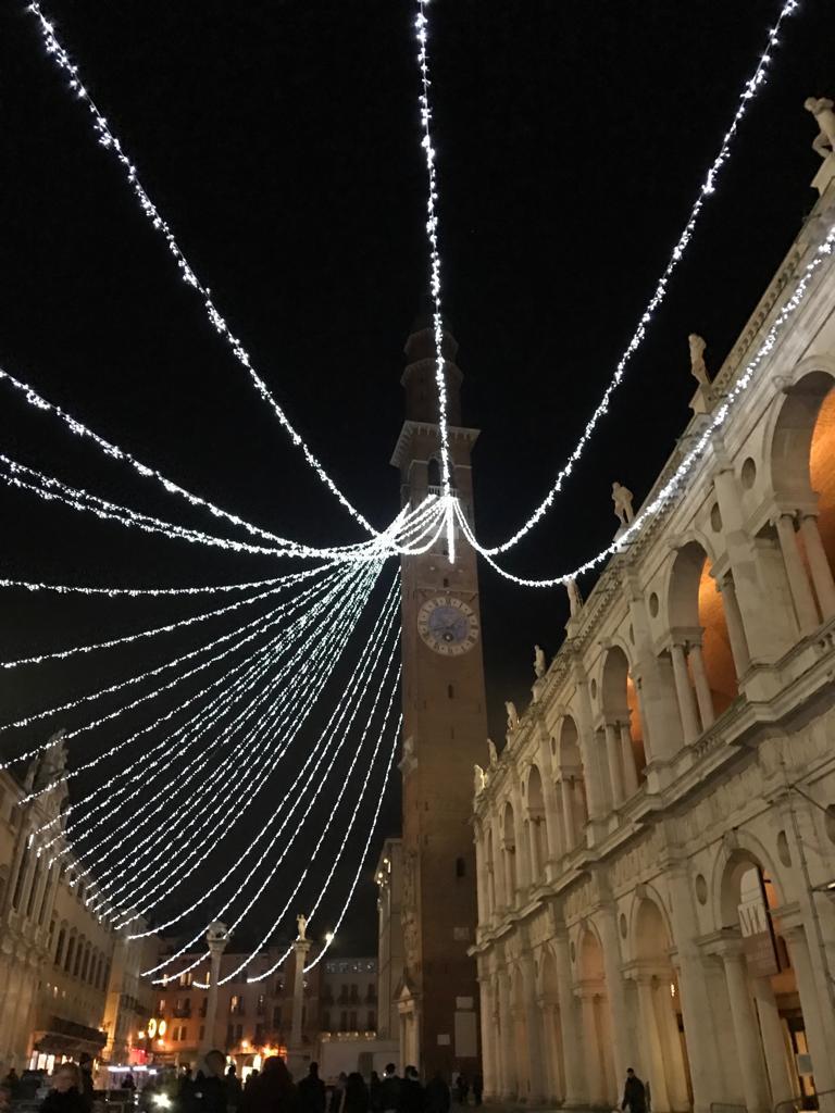 Piazza dei Signori a Natale
