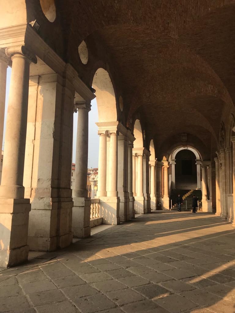 La loggia della Basilica Palladiana